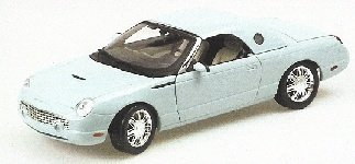 MINICHAMPS FOR10017T FORD THUNDERBIRD CABR.2003 AZUR 1:18 MODELLINO DIE CAST -