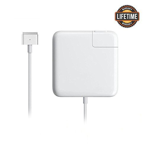 KKQBN Macbook Pro Charger, 85w Magsafe 2 Power Adapter Ac Charger for MacBook Pro 13-inch 15inch and 17 inch by KKQBN