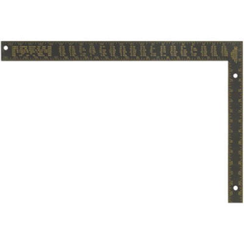 Johnson Level & Tool CS7 16-Inch x 24-Inch Black Aluminum Filled Rafter Square