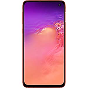 Samsung Galaxy S10e, 128GB, Flamingo Pink – Fully Unlocked (Renewed)