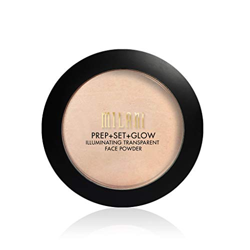 Milani Prep + Set + Glow Illuminating Transparent Face Powder (0.3 Ounce) Vegan, Cruelty-Free Primer & Setting Powder - Highlight Skin & Set Makeup for Long-Lasting Wear