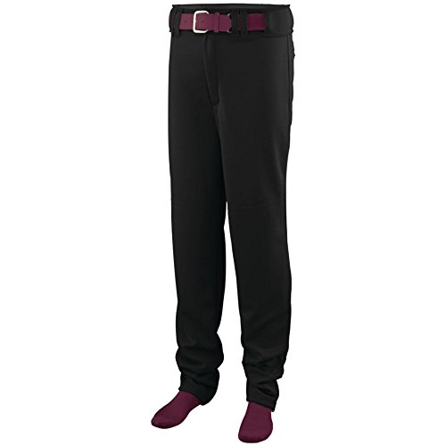 Augusta Activewear Series Baseball/Softball Pant, Black, XX Large