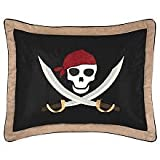 Sweet Jojo Designs Treasure Cove Pirate Pillow Shams