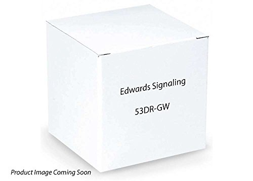 Edwards Signaling 53DR-GW BEACON 24-28VDC RED
