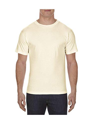 (Alstyle Apparel AAA Men's Classic T-Shirt, Cream, X-Large )