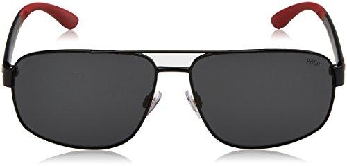 Black para de Negro Gafas Lauren Hombre Matte Polo Ralph 0PH3112 Sol wxBnAY