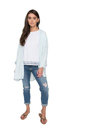 - Ardene Women's - Kimonos & Ponchos - Soft Denim Kimono Large -(8A-AP01566)