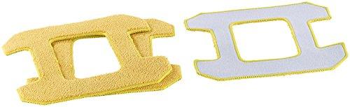 Sichler Haushaltsgeräte Mikrofaser-Reinigungs- und -Polier-Pad für PR-041 V3, 3er-Set