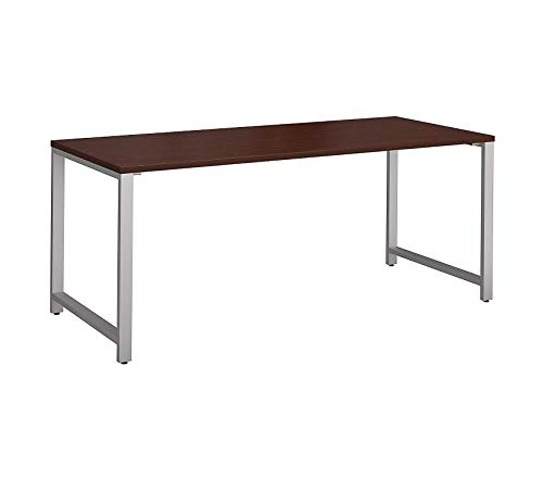 Bush Businеss Furniturе Office Home Furniture Premium 400 Series 72W x 30D Table Desk in Harvest Cherry