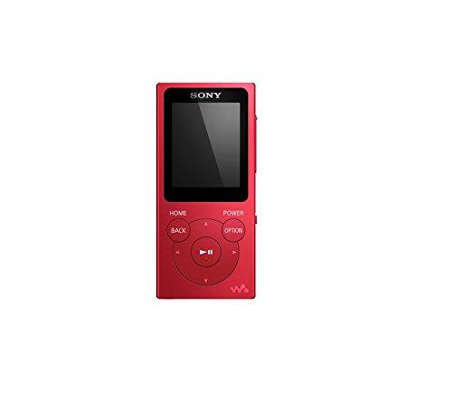 Sony NW-E394/R Walkman 8GB* MP3 Player Red