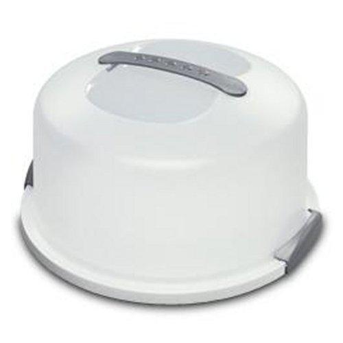 Sterilite 2008004 Cake Server, White - 2-pack by STERILITE