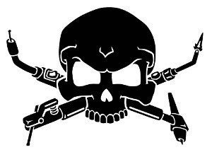 (Welder Skull Decal, Decal Sticker Vinyl Car Home Truck Window Laptop)