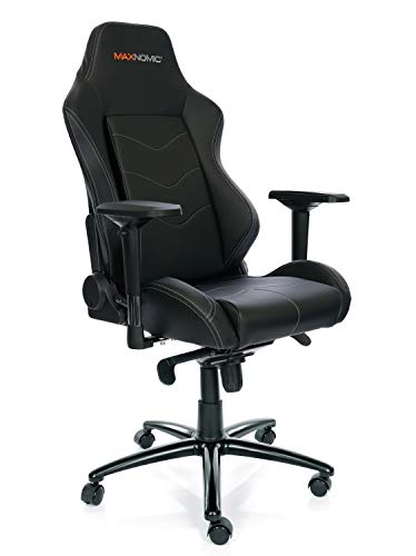 MAXNOMIC Dominator (Black) Premium Gaming Office & Esports Chair