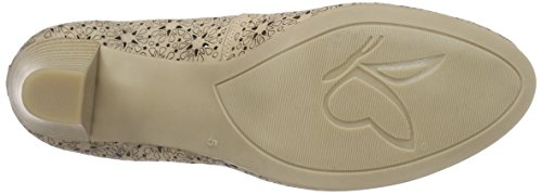 22503 Beige SAND Caprice Mujer Zapatos 355 Beige FdqdwAOUc