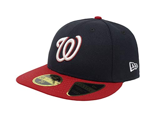 Washington Nationals Low Profile New Era Alternate 59FIFTYFitted Hat/Cap - Alternate Era New Cap