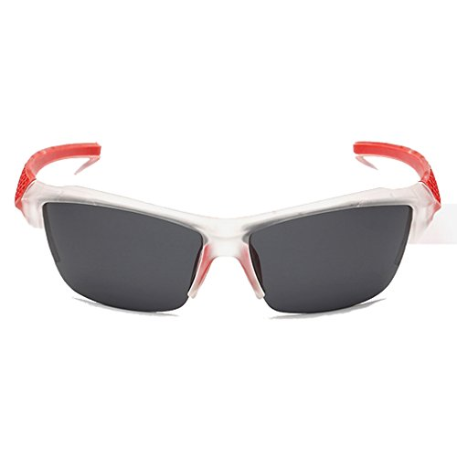 A-Royal Newest Mens Cool Personality Cycling Sport Windproof Sunglasses(C3) Peppers Wrap Around Sunglasses