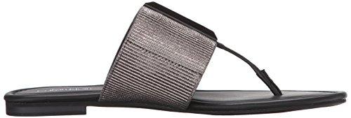Calvin Klein Mujer Bonni Flip Flop Anthracite-Black
