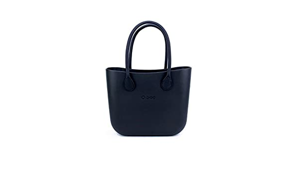 bolso O Bag negra + Asas Largos ecopiel negros + Bolsa negra: Amazon.es: Zapatos y complementos