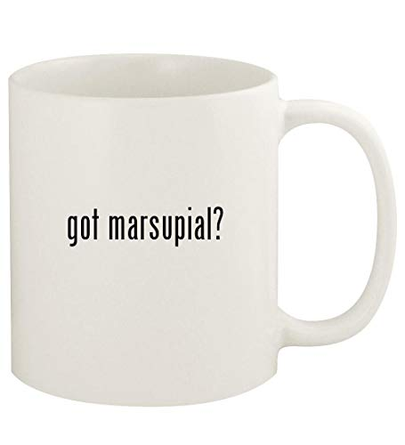 got marsupial? - 11oz Ceramic White Coffee Mug Cup, White