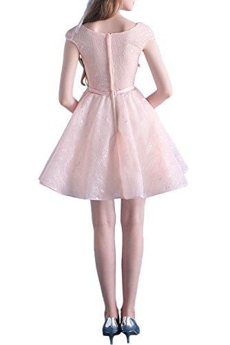 Spitze Tanzenkleider Heimkehr La Mini Rosa Glamour Promkleider Cocktailkleider Abendkleider Braut Marie Rosa Kurzes IUnUAgH
