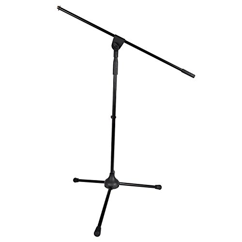Peavey 37 to 60 Inch Tripod Microphone Stand with 31 Inch Boom II with 2 Clamps