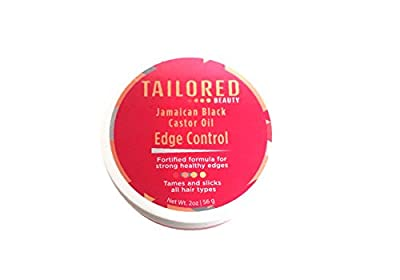 Tailored Beauty Jamaican Black Castor Oil Edge Control 2 oz