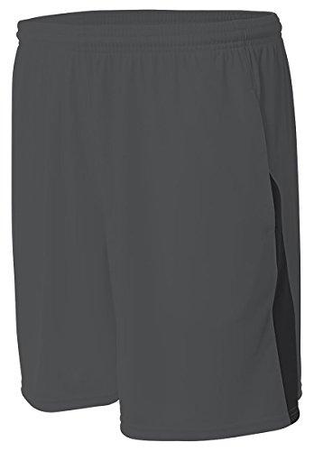 block grafito A4 corto negro n5005 gpb para hombres N5005 bolsillos color wS6P0q