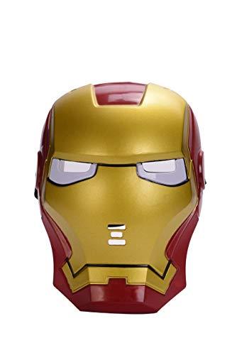 Iron Man Light Up Mask (Cosplay Iron Man Mask with Blue Light-Up)