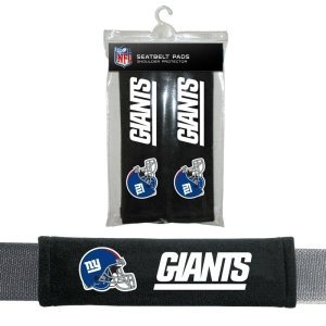 NFL New York Giants Seat Belt Pad (Pack of 2) (Ny Giants Logo)