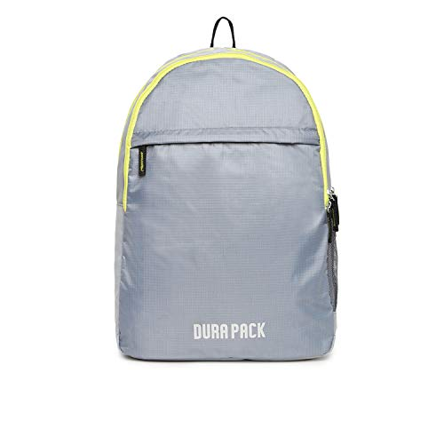 DURAPACK City 22 Ltrs Grey Casual Backpack  C1GR