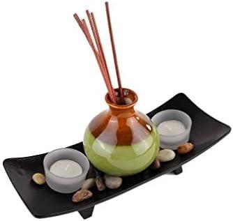 Ambiance Zen et Asiatique lachineuse Deco Visage Serein DE Bouddha 2 Bougies