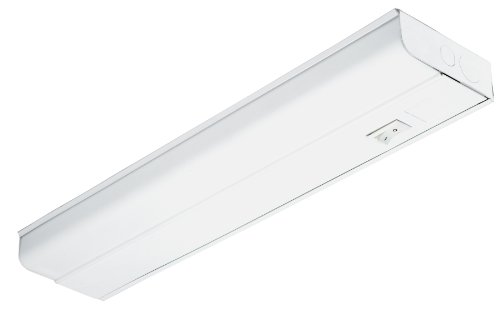 Lithonia Lighting UC8 15 120 SWR M6 Standard 18-Inch T8 Fluorescent Cabinet Light, White ()