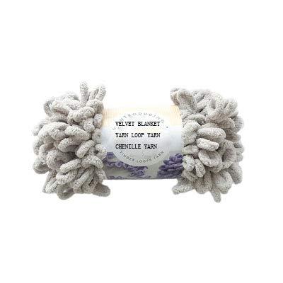 (200g Knit Loop Blanket Yarn Velvet Chenille Yarn Puffy Yarn Bulky Yarn Baby Yarn Finger Yarn )