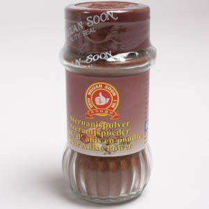 Nguan Soon Ground Star of Anise 45g (1.59 Oz) Product From Thailand by Nguan Soon