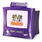 ": Bratz Plugged In 13"" Color TV/DVD Player"