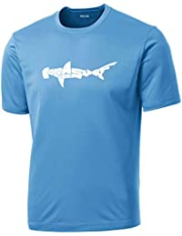 Koloa Shark Logo Moisture Wicking Athletic T-Shirts in...