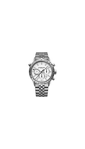 Raymond Weil Freelancer White Dial Mens Chronograph Watch 7740-ST-30001