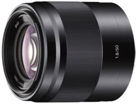 Sony SEL50F18 50mm f/1.8 Lens for Nex Cameras