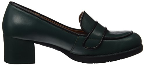Femme Petroleo star Vert Pumps Bristol Art Y0E1qq