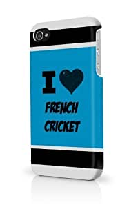French Cricket Blue iPhone 5/5S Case - For iPhone 5/5S - Designer PC Case