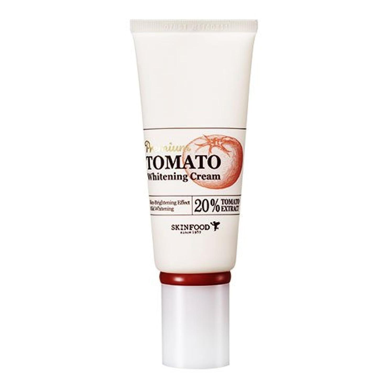 構造ウォルターカニンガム海峡Skinfood プレミアムトマトホワイトニングクリーム(美白効果) / Premium Tomato Whitening Cream (Skin-Brightening Effect) 50g [並行輸入品]