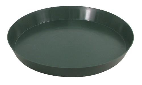 Green Premium Plastic Saucer 16 in (40/Cs)