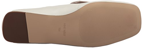 Nine West Women's Yobie Leather Loafer Flat White Leather hot sale cheap price oElnV