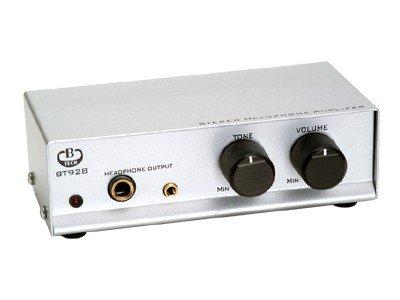 B-TECH BT928/S Stereo-Kopfhörerverstärker silber