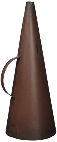 Design Toscano Hollywood Movie Director's Megaphone Home Theater Decor Statue, 9 Inch, Metalware, -