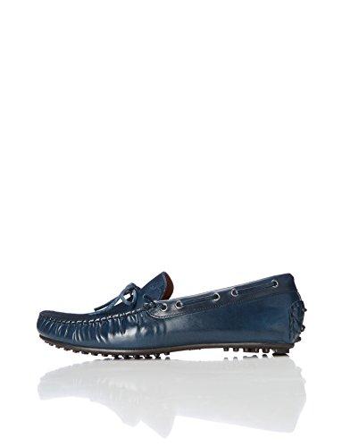FIND Mocassins à Lacets Homme Bleu (Navy) LHe3QCOWLk