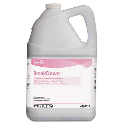 Diversey 94291110 Butcher's Odor Eliminator, Fresh Scent, Liquid, 1 gal. Bottle (Case of 4)