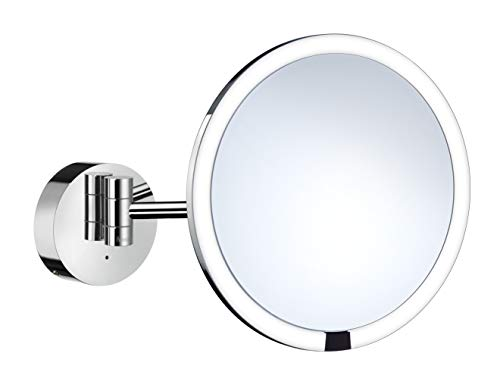FK487EP LED wall-mounted USB chargeable make up mirror with -