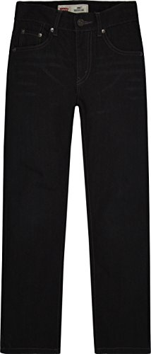 Levi's Boys' 505 Regular Fit Jeans, Levine, -