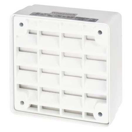 Speaker, White, Indoor, 94dB, 8W, 24VDC